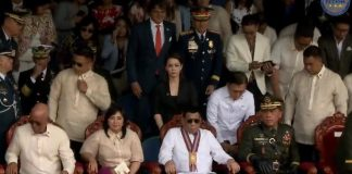 Duterte and Leni PMA