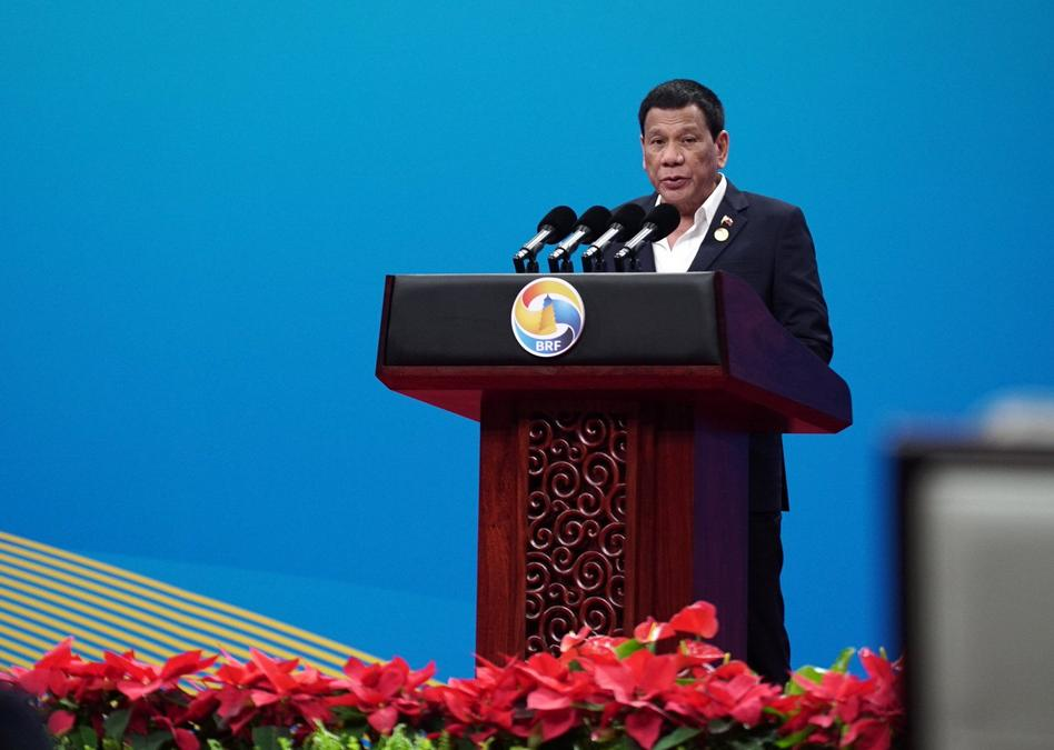 Duterte speech China