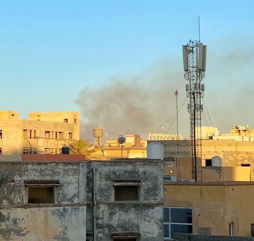 Libya Tripoli battle