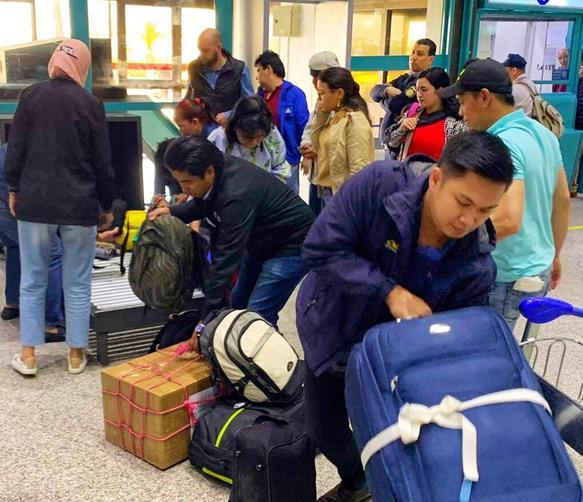OFWs tripoli Libya evacuated