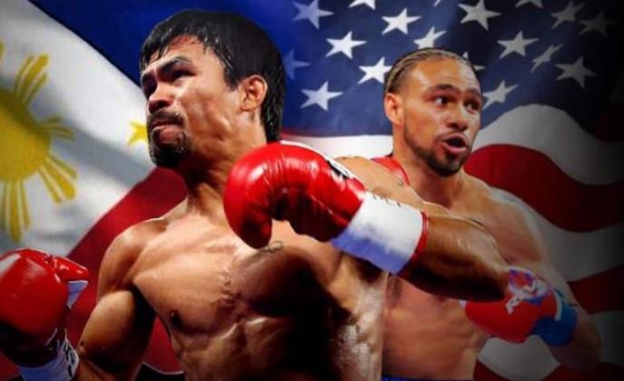 Pacquiao Thurman Fight 1
