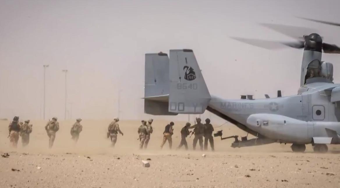 US troops gulf