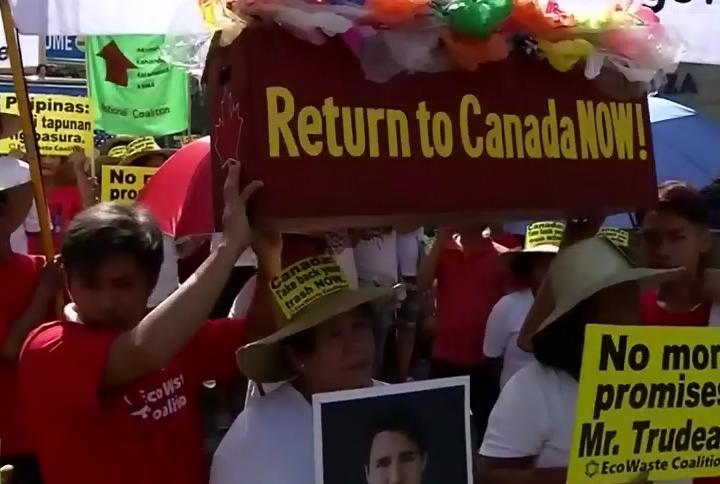 canada trash rally