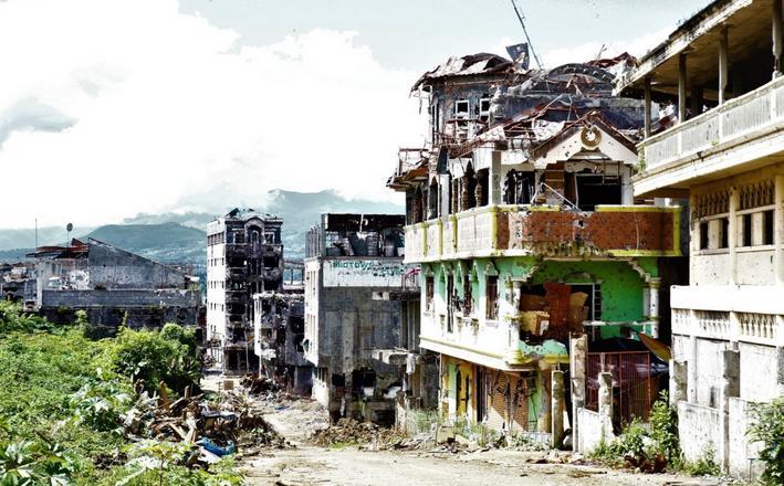 marawi siege rehab ruins