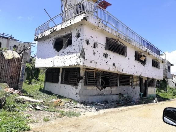 marawi war siege ruins