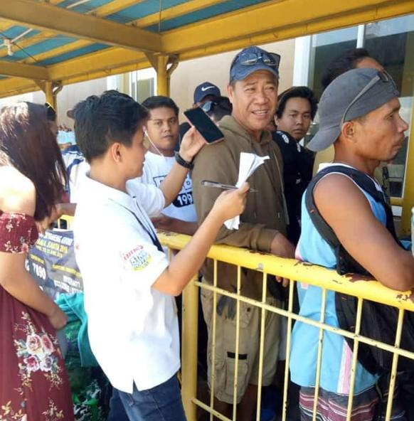the vote volunteers