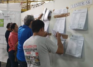 voters precincts polls comelec