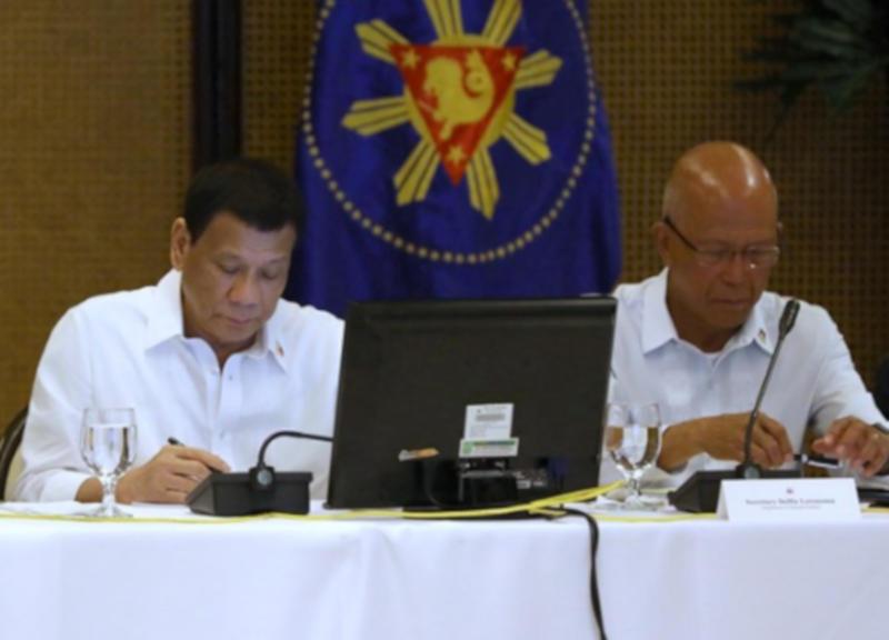 Duterte and Lorenzana