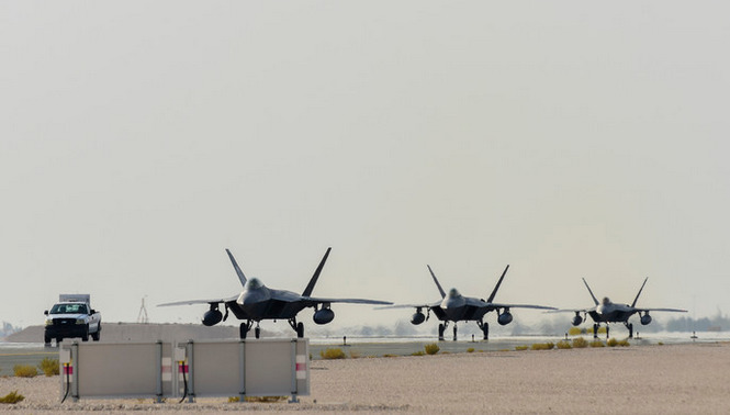 F 22 raptors stealth