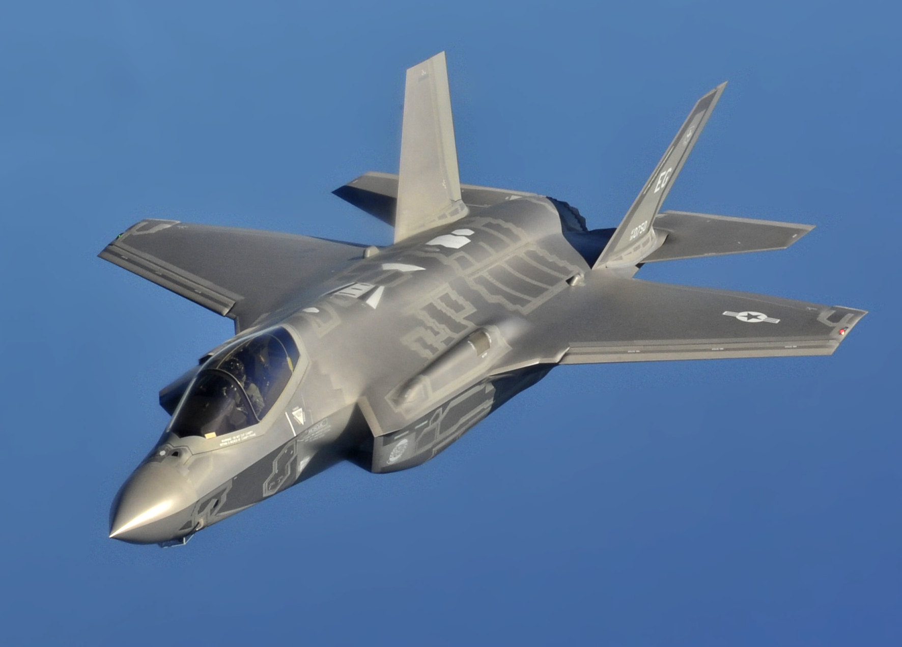 F 35A flight cropped