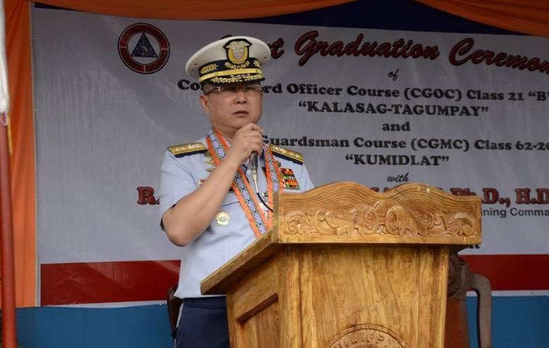 PCG Vice Admiral Joel Garcia