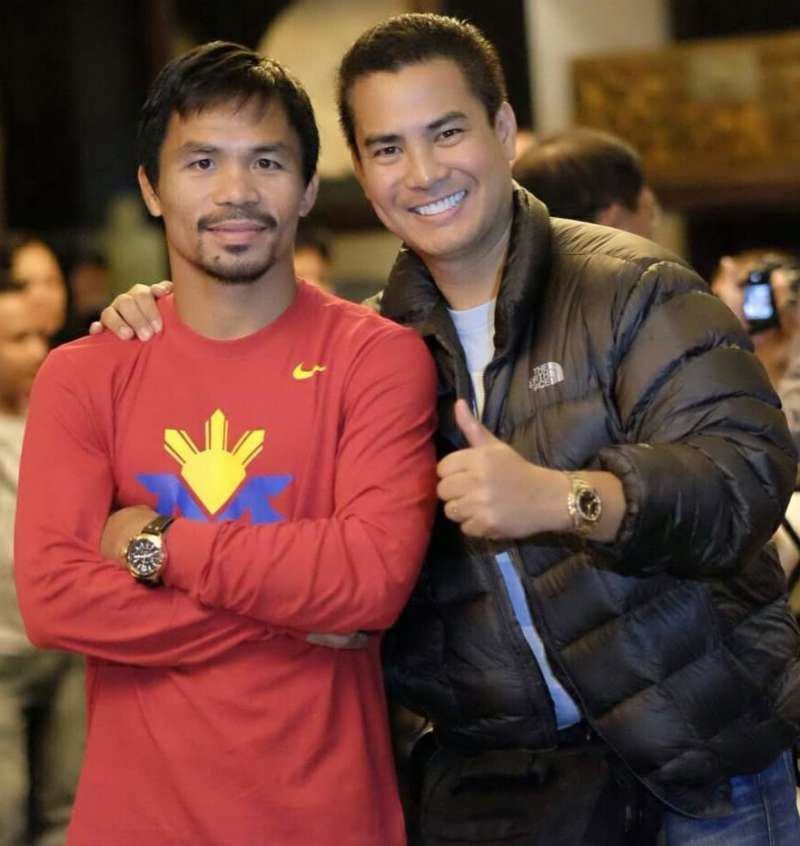 Pacquiao and Melo
