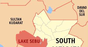 Ph locator south cotabato lake sebu