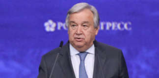 UN SecGen Antonio Gutteres