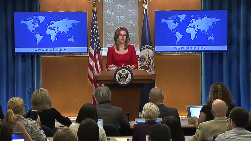 US STATE DEPT MORGAN Ortagus