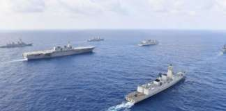 cropped south china sea war exercises west PH