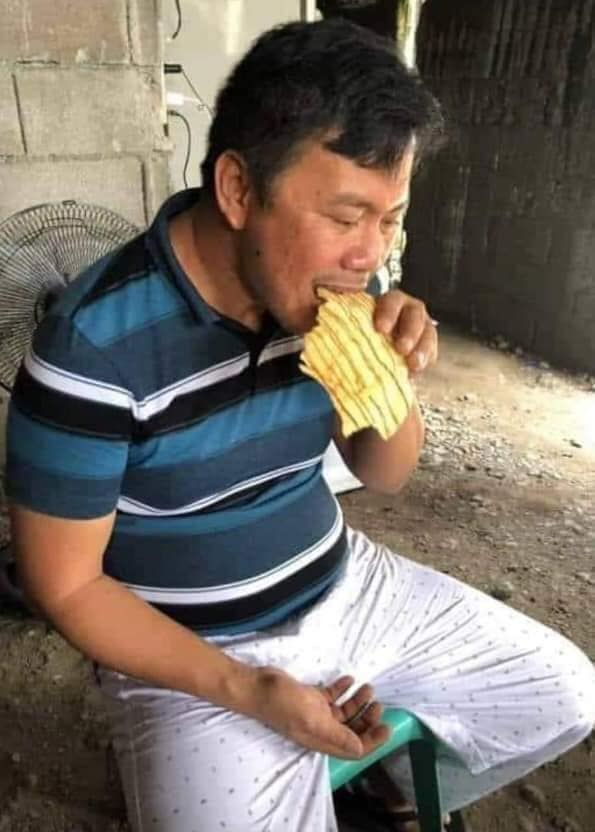 kapa joel apolinario eating