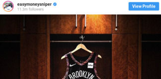 BROOKLYN NETS DURANT JERSY