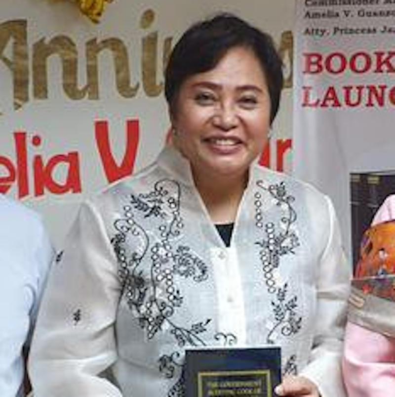 Commissioner Rowena Guanzon