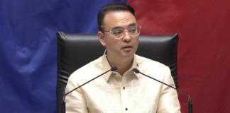 House Speaker alan Cayetano 1
