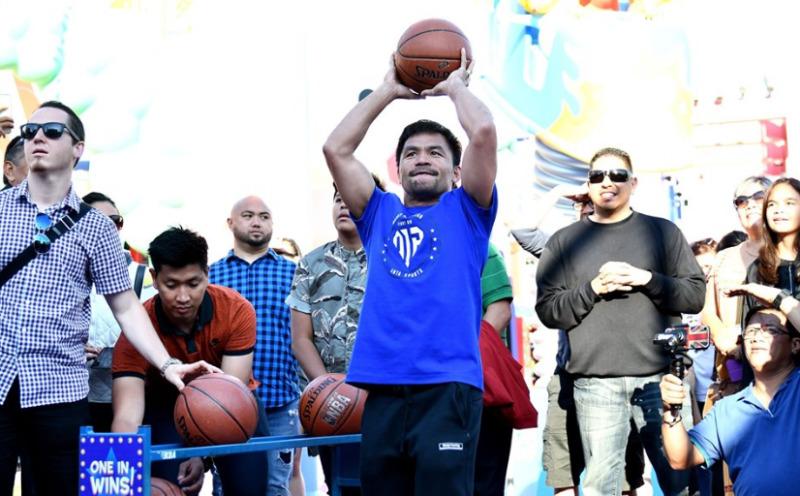 Pacquiao basketball