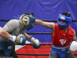 Pacquiao sparring
