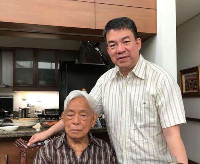 Senator Koko and Sen Nene Pimentel