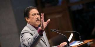 cropped Sen. Tito Sotto