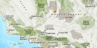 earhquake map USGS