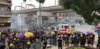 hong kong protest rallies