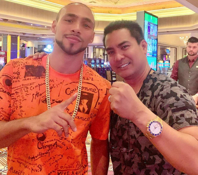 keith thurman melo