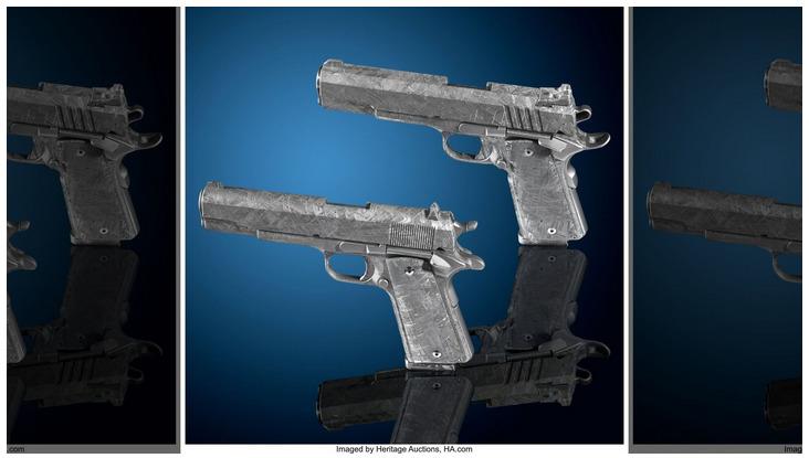 meteorite handguns