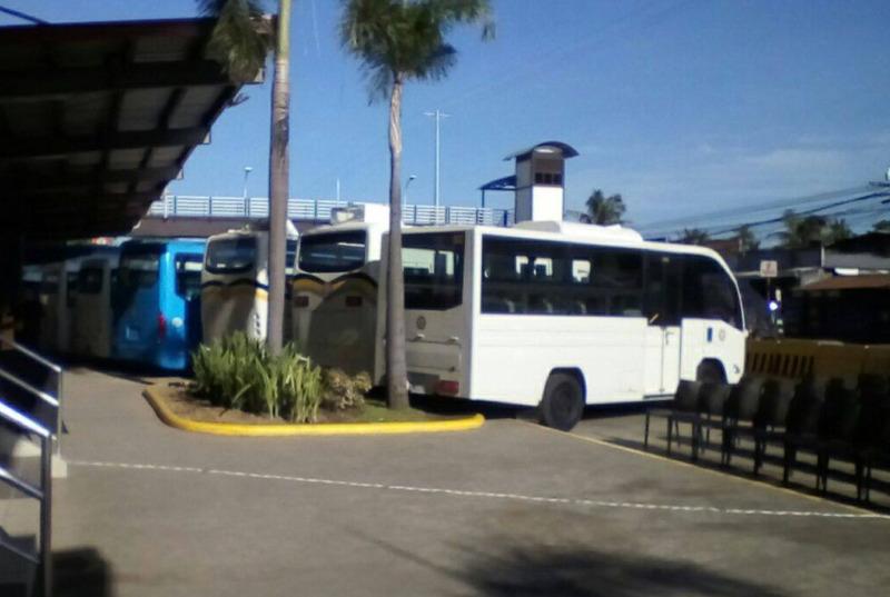 modern bus santiago