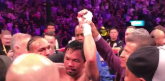 pacquiao thurman stage