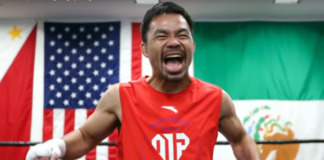 pacquiao training