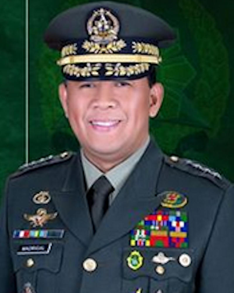 AFP CHIEF Benjamin Madrigal