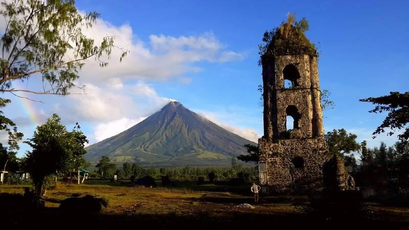 Cagsawa Mayon Volcano