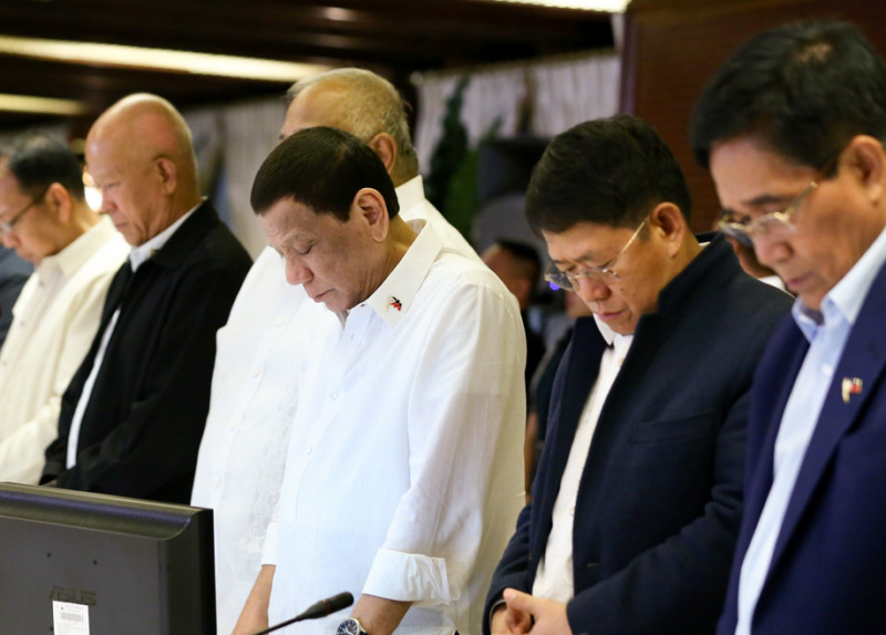 Duterte prayers Esperon Ano DND