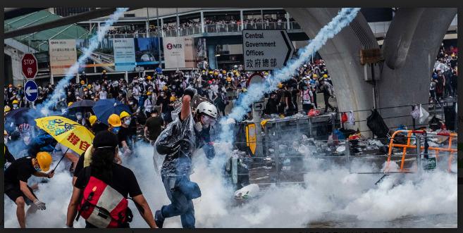Hong Kong protest rallies demos