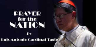 Prayer for the Nation by Luis Cardinal Tagle