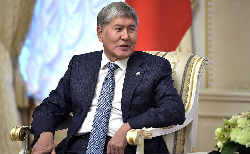 President Almazbek Atambayev