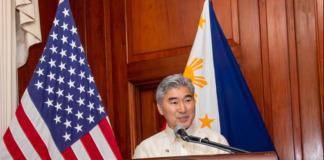US Embassy Sung Kim
