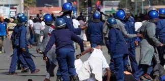 cropped Zimbabwe police