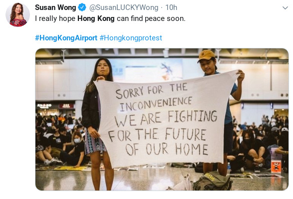 hong kong rallyists
