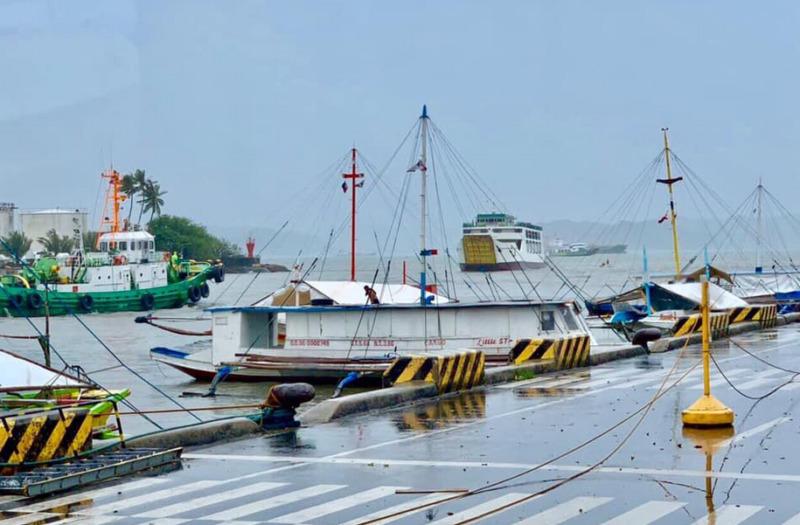 port terminal pumpboats banca iloilo