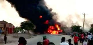 uganda fire