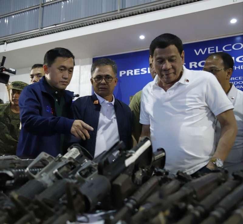 Bong Go and Duterte