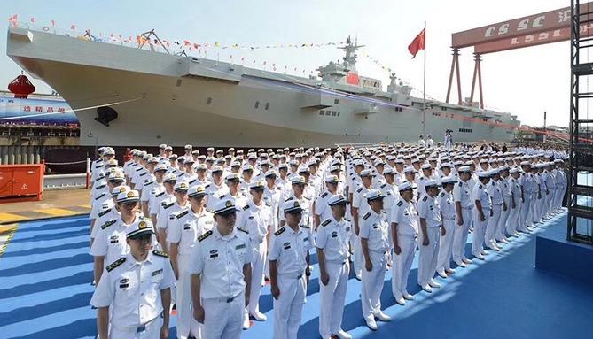 China Navy amphibious ship