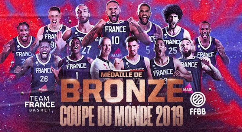 France Basketball bronze
