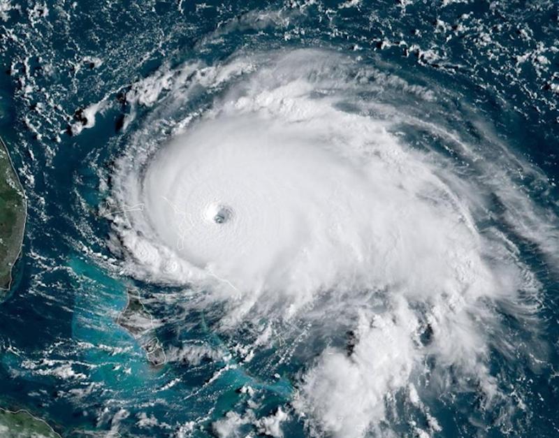 Hurricane Dorian Category 5